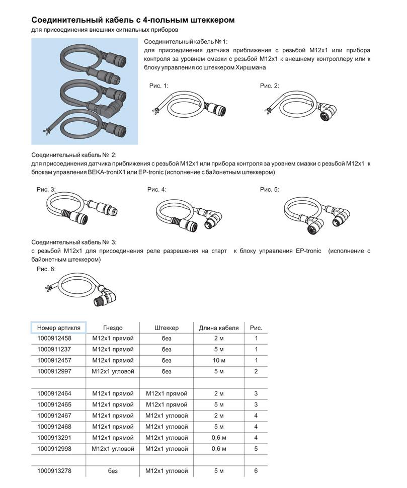 соединительный кабель со штеккером